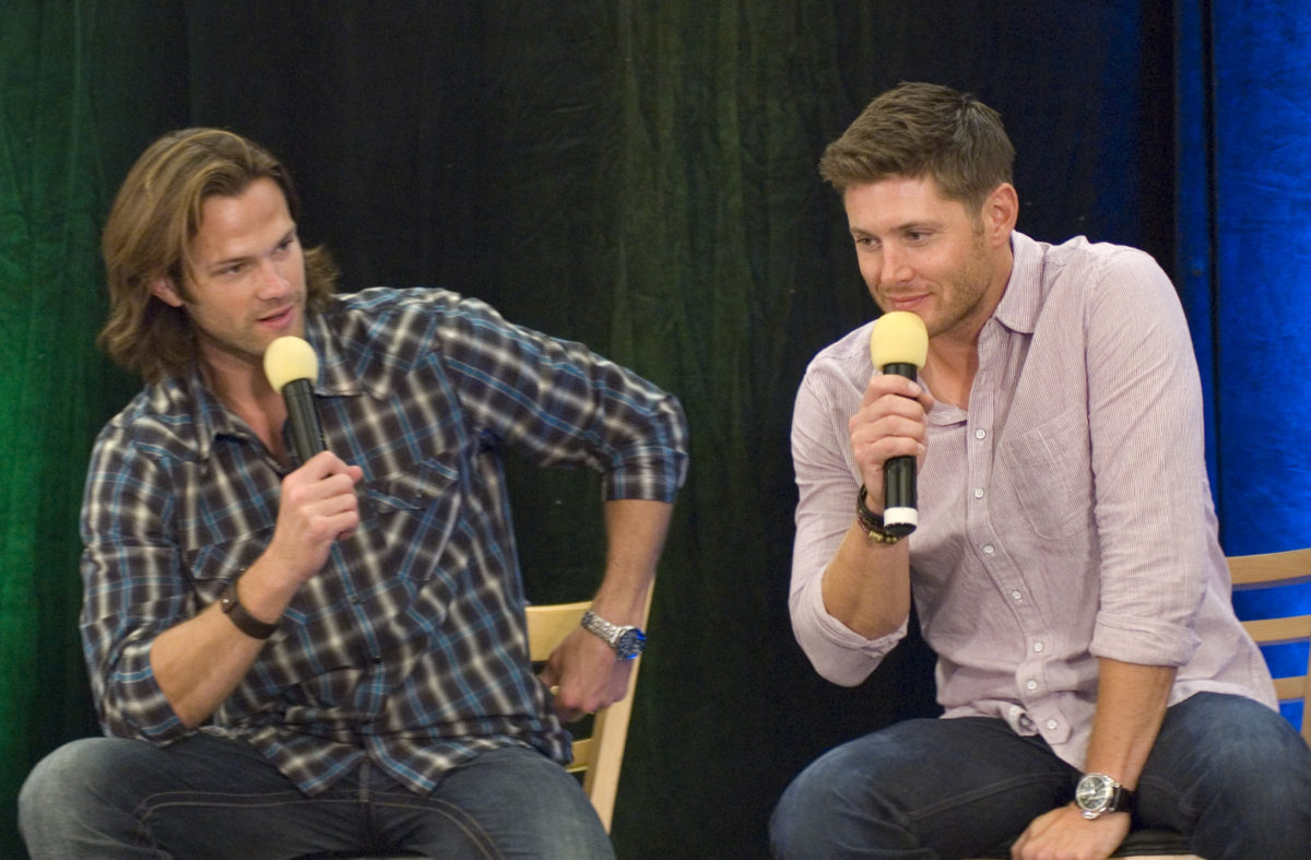 Padalecki and Ackles On Stage at the Vancouver Convention